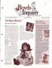 Boyds Inquirer A Newsletter of the Collection Ltd Volume V Issue 4 Fall 2001