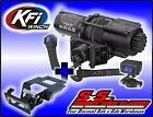 4500 lb KFI Stealth Winch Combo Synthetic Rope Polaris RZR XP900 XP 4 900 11-14