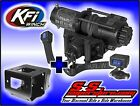3500 lb KFI Stealth Winch Combo Syn Rope Polaris Sportsman 2011-14 Big Boss 6x6