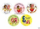 15 Strawberry Shortcake Stickers Kid Party Goody Loot Bag Filler Favor Supply