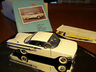FRANKLIN MINT 1/24 1960 CHEVROLET IMPALA 2 DOOR MINT IN BOX AND SHELL  PAPERS