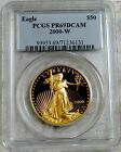2000-W $50 1 oz Proof Gold Eagle PCGS PR69DCAM**L@@K***L@@@K**