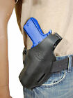 New Barsony Black Leather Pancake Gun Holster for Sig Sauer Full Size 9mm 40 45