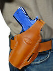 New Barsony Tan Leather Pancake Gun Holster for Springfield Full Size 9mm 40 45