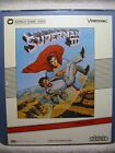Vintage SUPERMAN III 1983 Rare CED Laserdiscs Christopher Reeve DC Comics Pryor