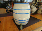 Anitque stoneware water jug/crock #2 Blue and white no top