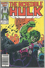 Vtg 1987 MARVEL The INCREDIBLE HULK 329 OUTCASTS 1st Appearance vs NEVERMIND