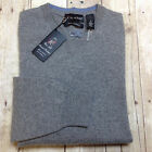 DANIEL BISHOP 100% CASHMERE SWEATER GREY MENS SIZE MEDIUM NEW WITH TAGS