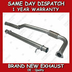 LAND ROVER DISCOVERY 300TDI DECAT EXHAUST  STRAIGHT THROUGH CENTER PIPE NEW