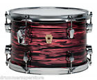 Ludwig Keystone Salmon Pearl Metal Drum 8x12 Tom w/ Atlas Bracket USA LKT782XXSO