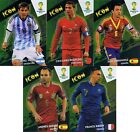 ADRENALYN WORLD CUP 2014 PREMIUM SET NORDIC GOAL MACHINE ICON DOUBLE TROUBLE KIT