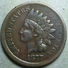 1877 Indian Head Cent, Key Date, VF, Raw, Nice Coin, FREE SHIPPING!!!!