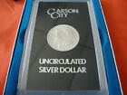 1884 CARSON CITY UNCIRCULATED SILVER DOLLAR IN BOX
