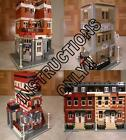 GET 65+ CUSTOM LEGO INSTRUCTIONS like MODULAR SETS -great for fans of Lego 10210