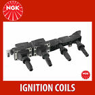 NGK Ignition Coil - U6004 (NGK48014) Ignition Coil Rail - Single