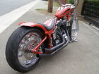 Custom Built Motorcycles : Chopper Frisco Chopper Bobber Kustom - Fact Harley drive train - Show winner  SF CA