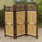 The Bamboo Fence of Folding Type for Garden
