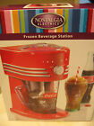 NOSTALGIA ELECTRICS COCA COLA COUNTER TOP FROZEN BEVERAGE STATION - NIB
