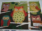 Super Cute Set of (4)  Owl Tapestry Placemats 13