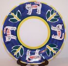 Pottery Barn Cat Kitty Dinner Plate Mexico Folk Art Handpainted 12 1/2