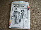 Vtg Stretch & Sew by Ann Person Pattern # 1584 Asymmetrical Tie Dress and Blouse