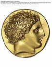 Ancient Greek Gold Coin, Kings of Macedon, Philip II, 359-336 B.C., Beautiful !!