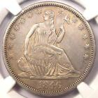 1846-O Tall Date Seated Liberty Half Dollar 50C - NGC AU Details - Rare Coin!
