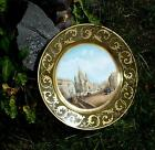 Antique Russian Imperial Porcelain Topographical  Plate, A III