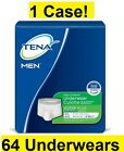 Tena Protective Underwear for Men Super Plus Absorbency, Size Med/Lg Case/64