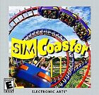 SIM COASTER PC CD-ROM COMPUTER COMPLETE CASE SIMCOASTER ROLLER THEME PARK GAME