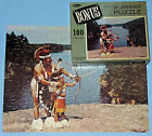VINTAGE WHITMAN Jr. JIGSAW PUZZLE NATIVE AMERICA BOW ARROW WARRIOR INDIAN RIVER