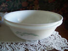 Corning CORELLE Emily green flowers 2 cereal soup bowls
