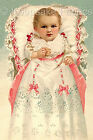 Victorian Baby Reproduction Fabric Quilt Block FrEE ShiPPinG WoRld WiDE