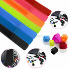 7Pcs Straps Wrap Wire Velcro Organizer Cable Tie Rope Holder for Laptop PC TV