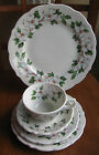 VINTAGE SYRACUSE China DOGWOOD Place Setting CUP SAUCER Plates RAILROAD Hotel