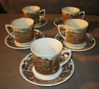 8 Pcs Royal Staffordshire China J & G Meakin Ironstone Cups & Saucers Set