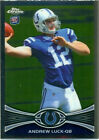 2012 Topps Andrew Luck, Indianapolis Colts #1 Football Card