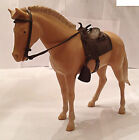 Johnny West Louis MARX  Palomino Colt with Saddle & Bridle for Boys & Girls 1970