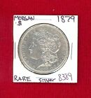 1879   MORGAN SILVER DOLLAR COIN #8389 $ GENUINE US MINT$RARE