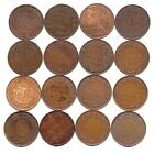 1882-H,88,93,03,06,07,09,10,12,13,14,16,17,18,19 Canada Large Cents-Nice Coins!!