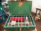 ** Nice Vintage Green Coleman 2 Burner Camp Stove Model 425E ** Used Only Once