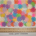 50 MARTHA STEWART COSMOS FLOWER PAPER PUNCHES CUT OUTS EMBELLISHMENTS