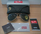 New Ray Ban Sunglasses 3025 Aviator L0205 in Gold, RayBan Ray-Ban