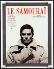 LE SAMOURAI 1967 French 23x30 poster on linen Alain Delon Jean Pierre Melville