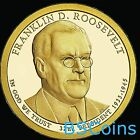 2014 P&D Franklin D. Roosevelt Presidential Dollar BU from US MINT - In Stock