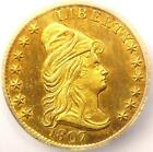 1807 Capped Bust Right Gold Quarter Eagle $2.50 - ICG AU58 Details - Very Rare!
