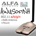 Alfa AWUS051NH USB Wireless N 802.11a/b/g/n WiFi Adapter Dual Band 2.4/5 GHz