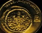 WIDOWS MITE Gold Toned Coin Israel Jesus Christ Bible New Testament Book Parable