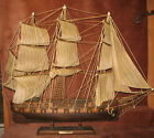 USS CONSTELLATION Scaled Wood Model Ship Sailing  Boat 24