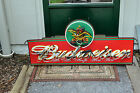 Large Budweiser Classic Iconic Marquee Beer Neon Sign bar light Man Cave Bud